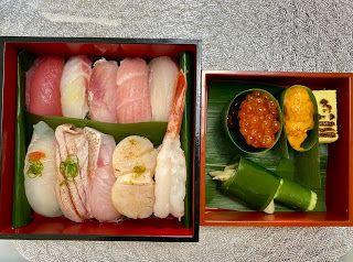 さとうあつこのハワイ不動産 魚三のお寿司 寿司 ハンバーガーとポテト テイクアウト ランチ