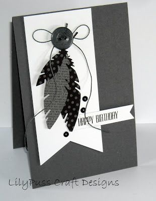 LilyPuss Cards: Two for the Boys....