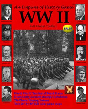 Empires of History: WWII Strategy Board Game