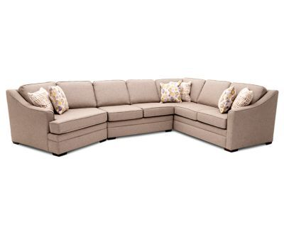 Admirable Clarissa 3 Pc Sectional In 2019 3 Piece Sectional Evergreenethics Interior Chair Design Evergreenethicsorg