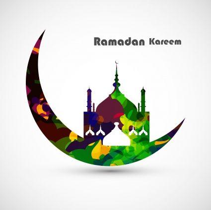 Vector Illustration Arabic Islamic Calligraphy Colorful Text Ramadan Kareem Design 6819823 Jpg 425 424 Ramadan Kareem Ramadan Vector Art Design