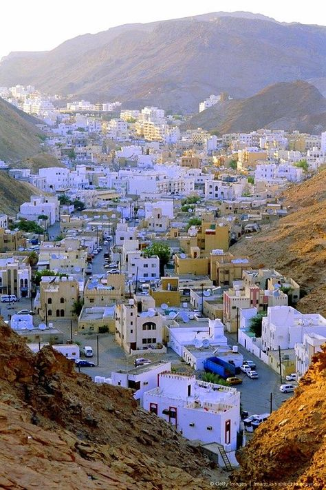 The Old Quarter Muscat Oman Best Experienced During Early
