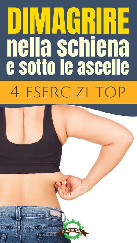 esercizi per dimagrire addome e schiena