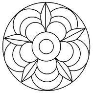 Risultati Immagini Per Mandala Da Colorare Facili Pagine Da