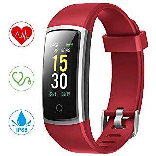 Fitness Armband Yonmig Wasserdicht Ip68 Fitness Tracker Mit Pulsmesser Blutdruckmessung 0 96 Zoll Farbbildschir Fitness Armband Fitness Tracker Schrittzahler