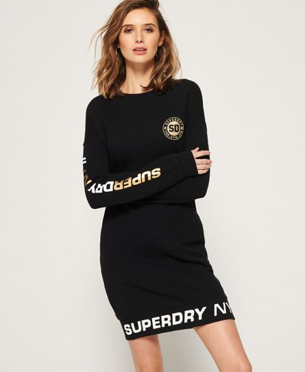 a374ea793373 Superdry Pacific Luxe Sweat Dress