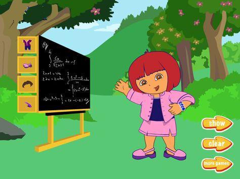 Teacher Dora - Dress up Games - Dressup24h.com