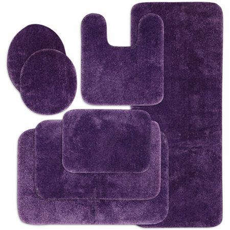 Jcpenney Home Ultima Bath Rug Collection Purple Bathroom Rug Purple Bathrooms Bathroom Contour Rugs