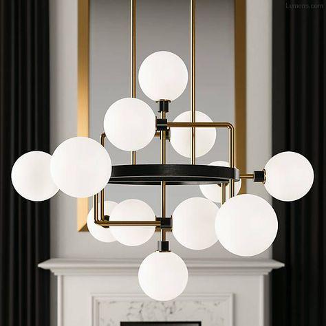 Elegant Lighting 2800D12G//RC Royal Cut Crystal 12 x 22