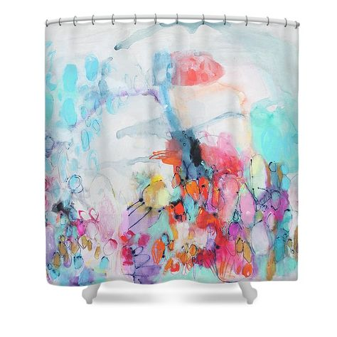 bath Muy Picante shower curtain by...