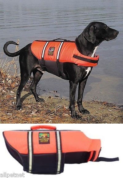 Safety Vests And Life Preservers 117427 Dog Life Jacket By Outward Hound Original Bright Orange Extra Large Buy I Outward Hound Safety Vest Life Jacket