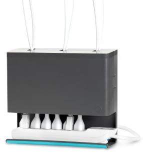 Quirky Boitier Range Cable Multiprise Pour Dessous De Bureau Amazon Fr Informatique Rangement Range Cable Multiprise