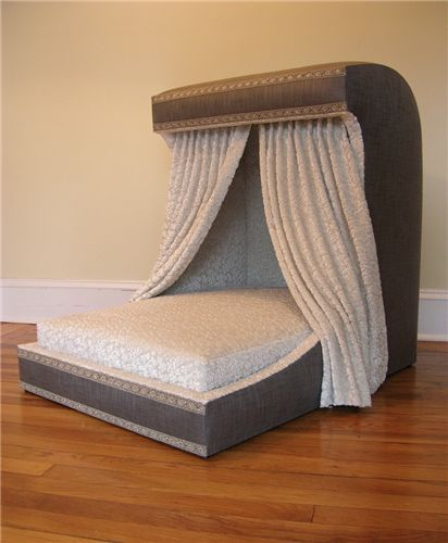 Couture Luxury Dog Bed With Hood And Draperies Dog Bed Furniture