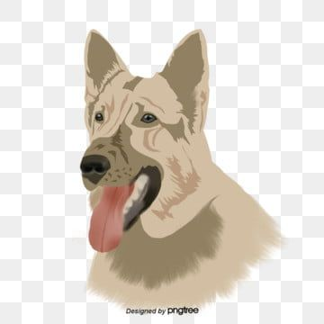 Hand Painted German Shepherd Dog Illustration Elements Lovely Germany German Shepherd Png Transparent Clipart Image And Psd File For Free Download In 2020 Dog Illustration Animal Paintings German Shepherd Dogs