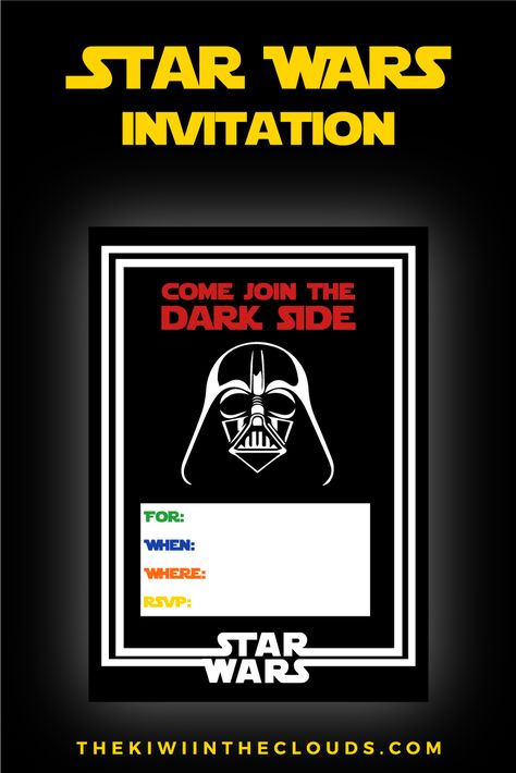 Free Star Wars Party Printables A No Stress Way To A