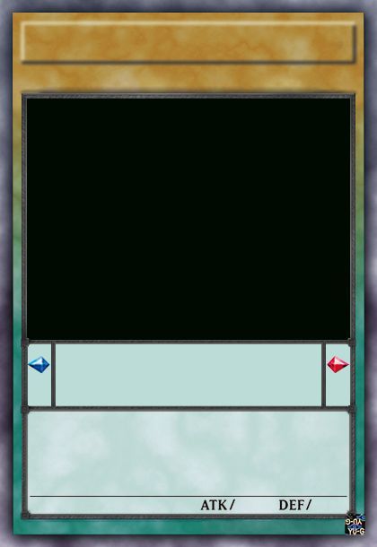 Free Yugioh Card Template In 2021 Card Template Cards Visiting Card Templates