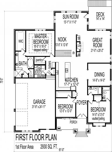 Awesome 25 More 3 Bedroom 3d Floor Plans 1000 Sq Ft House Small Three 4 Room House Plan Bungalow House Floor Plans Home Design Floor Plans Bungalow House Plans
