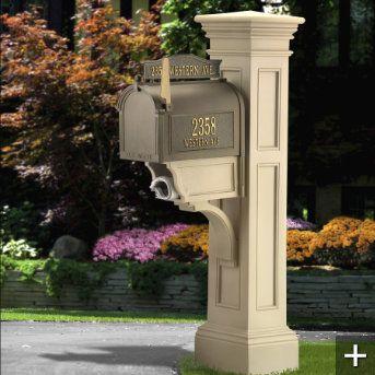 Grandin Road Liberty Mailbox