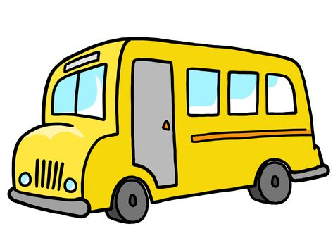 nice cartoon school bus clipart images from downloadclipart org rh pinterest co uk School Bus Window Bluebird School Bus Seats
