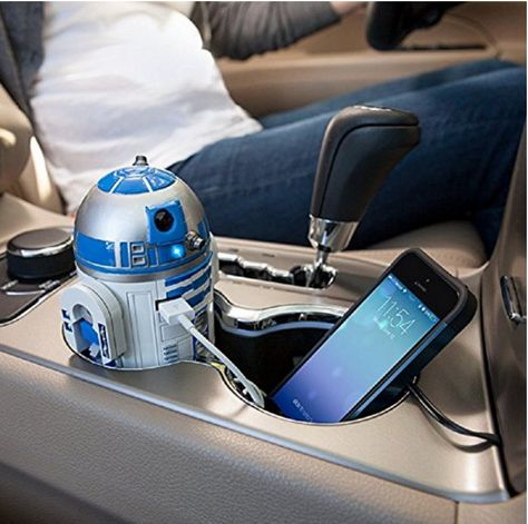 Love this R2-D2 car charger