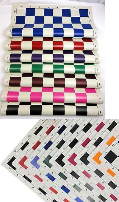 10 Pack Vinyl Roll Up Chess Boards Standard Tournament Size 2 1 4 Squares 617037976927 Ebay Vinyl Rolls Chess Board Vinyl