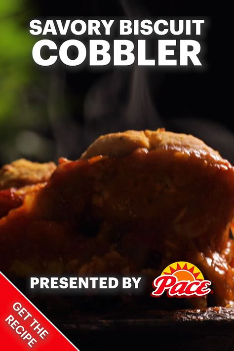 Savory Biscuit Cobbler with Pace®
