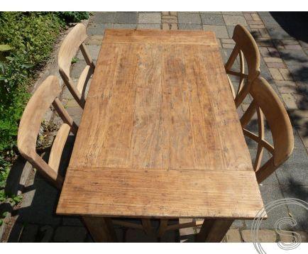 Teak Tisch 120 X 80 Rustikal Wohnen Mit Teak Mobeln