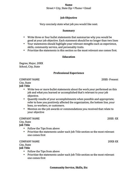 Security Resume Examples - http\/\/wwwjobresumewebsite\/security - first job resume examples high school student