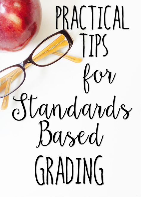 Standards based grading doesn't have to be time-consuming or difficult. In fact, this post shares five tips for making it practical for teachers.