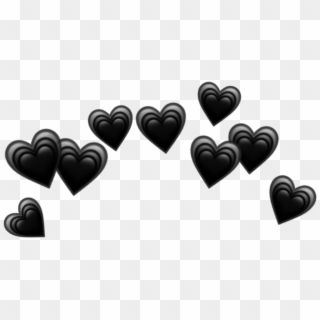 Heart Hearts Crown Black Tumblr Emoji Png Heart Crown Black Hearts Crown Png Transparent Png In 2020 Broken Heart Emoji Heart Emoji Black Heart Emoji
