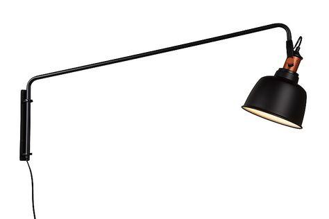 Archi W2 Vegglampe Matt Svart LIGHT POINT   Vegglampe