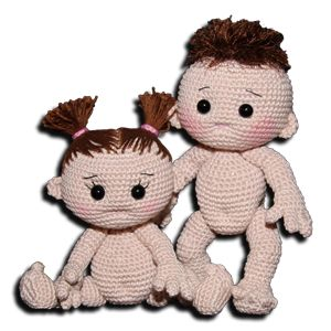 List Of Pinterest Free Crochet Amigurumi Doll Patterns English