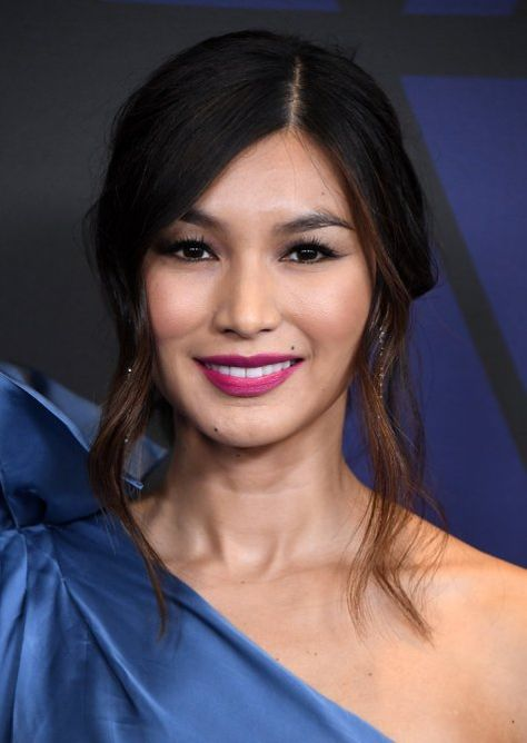 gemma chan heart face stylecaster 33 Super Flattering, Celebrity Approved Hairstyles for Heart Shaped Faces