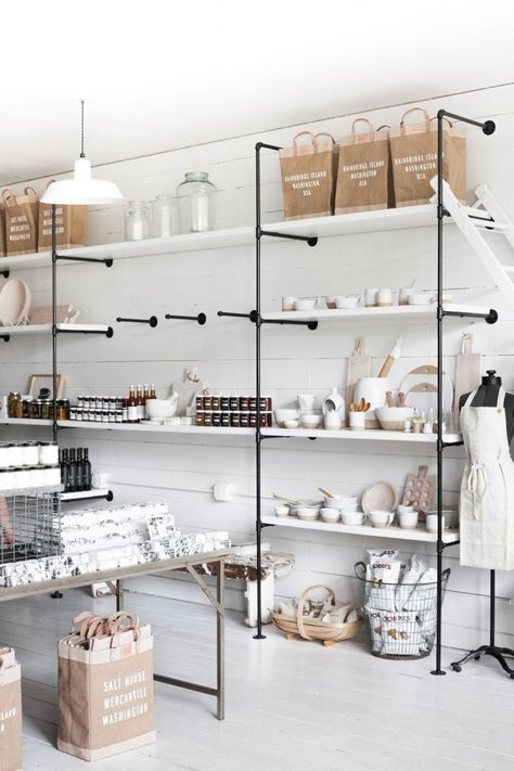 Retail Shelving Inspiration (for the Home) (Centsational Girl)