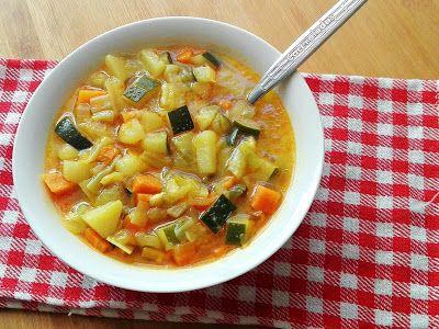 Sopa De Verduras Caceroladas Sopa De Verduras Sopa De Verduras Verduras Comida