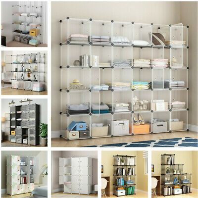Advertisement 8 9 12 16 20 30 Cubes Book Cabinet Shelf Storage Display Unit Room Organizer Cube Shelves Ikea Cube Shelves Shelves