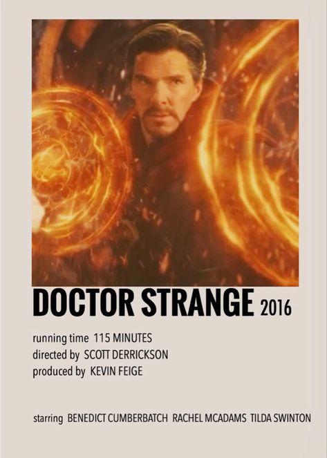 Doctor Strange polaroid poster