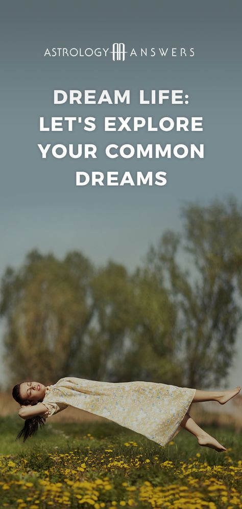 We've all had them. The dreams about being chased, flying, falling, dying and being naked in front of others. These are some of the most common dreams to have - but what do they mean? #dreams #dreaminterpretation #dreammeaning #commondreams #dreamsabout