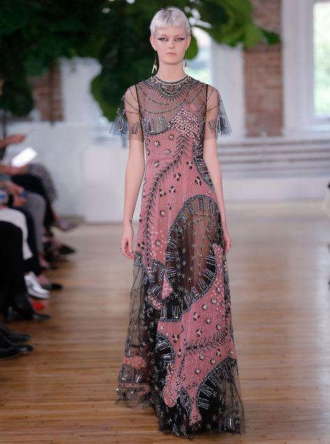 Sarah Fraser for Valentino Resort 2018