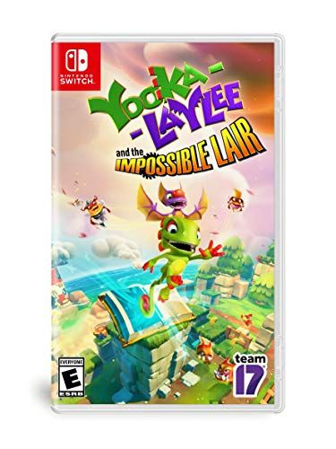 Yooka Laylee The Impossible Lair Nintendo Switch Xbox One Nintendo Switch Upcoming Video Games