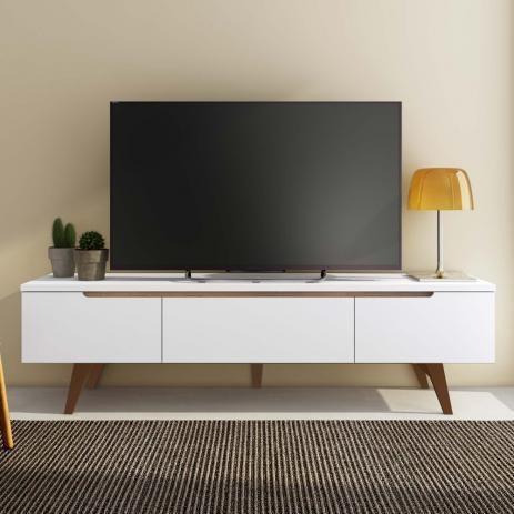 Rack Para Tv Com Pes Palito Madesa Reims Em 2020 Tv Decoracao
