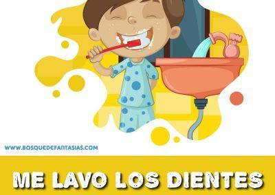 Fichas De Habitos Habitos Saludables Y De Convivencia Para Ninos