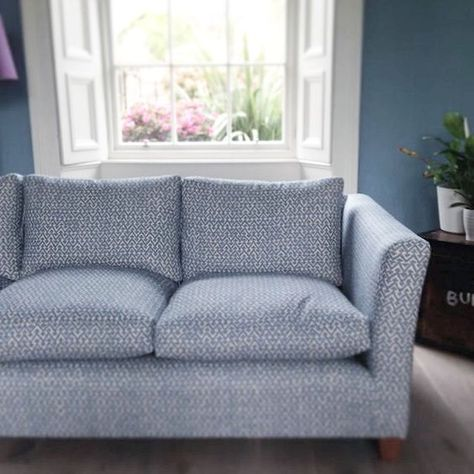 Fermoie Fabric Sofa Covered In Rabanna