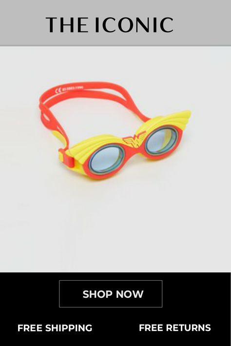 Wonder Woman Character Goggles