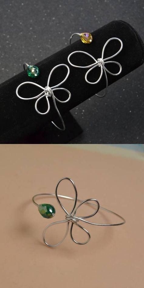 Handmade #bracelet with #Beebeecraft #wire