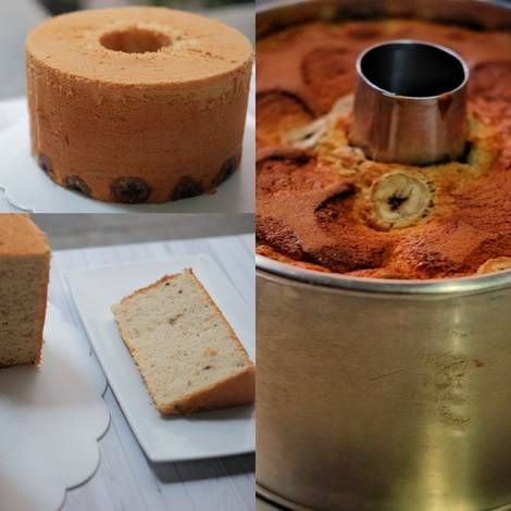 Resep Banana Chiffon Cake Oleh Tikabayu Resep Pisang Lemon Adonan