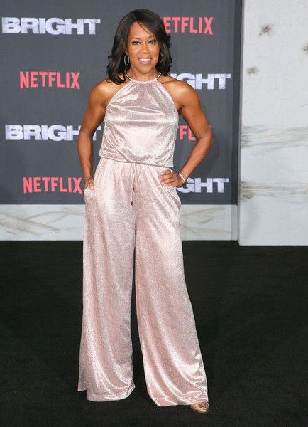 Regina King attends the world premiere of Netflix Films' 'BRIGHT.'