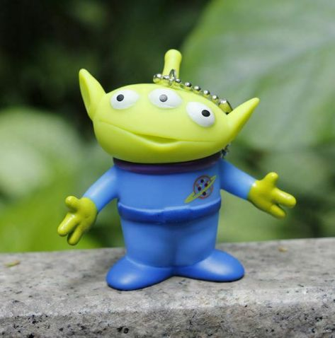 Kids Kawaii Toy Story Aliens Figure Doll Anime Brinquedos Keychain Best Gifts