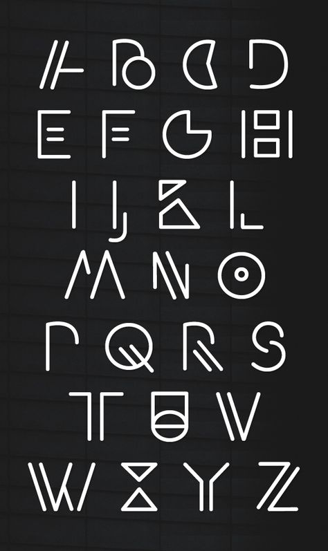 Artypa Free Font Letters