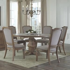 Florence Warm Natural Round Dining Table Set Round Dining Table Sets Dining Room Spaces Round Dining Table